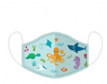 Sealife Design Reusable Face Covering - SMALL